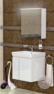 PVC комплект за баня Модена 55см.