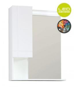 Ирис горен шкаф с огледало и LED осветление