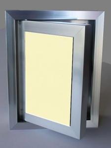 Ревизионна вратичка - Жълто стъкло