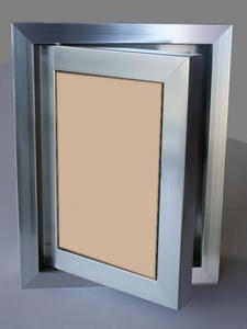 Ревизионна вратичка - Кафяво стъкло