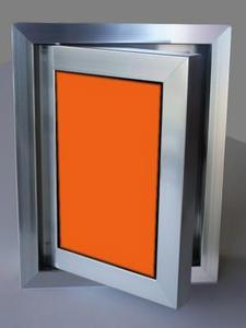 Ревизионна вратичка - Оранжево стъкло