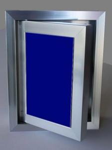 Ревизионна вратичка - Синьо стъкло