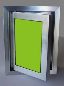 Ревизионна вратичка - Зелено стъкло