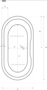 схема на вана Brac