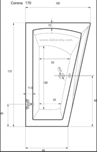 схема на вана Corona