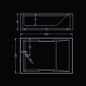 Схема на хидромасажна вана Атина