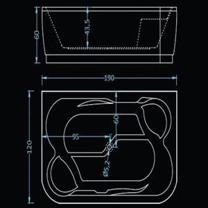 Схема на хидромасажна вана Хавана