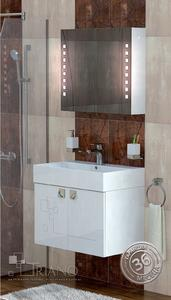 PVC шкаф за баня Сиана 70 см.