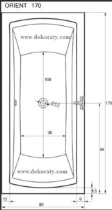 Схема на вана Orient