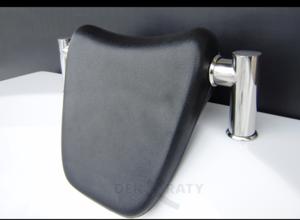 Възглавничка за вана на стойка черна