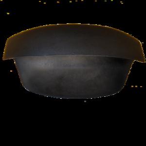Възглавничка за вана без ваккум черна А8