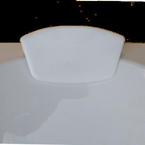 Възгланичка за вана без вакум бяла А8