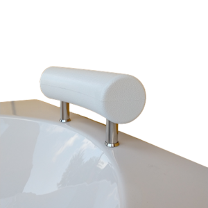 Възглавница на стойка извита малка бяла 812