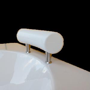 Възглавничка за вана извита бяла 23/7см.